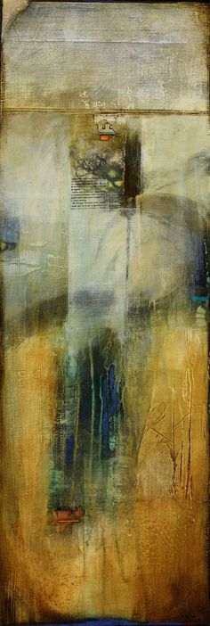 homage #10 ~ mixed media ~ by c w slade
