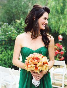 40 Trendy Emerald Green Wedding Ideas
