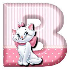 B Cat Marie (Alphabets by Mónica Michielin)