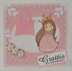 Prinsess grattis kort / Princess birthday card