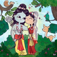 Alicia Souza – Be Bold People Baby Krishna, Cute Krishna, Krishna Art, Lord Ganesha Paintings, Lord Shiva Painting, Bff Drawings, Cool Art Drawings, Good Morning Krishna, Krishna Drawing