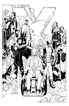 Wolverine and the X-Men promo by TimTownsend on deviantART