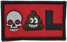 Tactical Gear Junkie - Deadpool Emoji - 2x3 Morale Patch , $4.99 (http://www.tacticalgearjunkie.com/deadpool-emoji-2x3-morale-patch/)