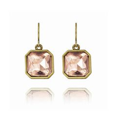 Retro Glam Square-Cut Crystal Earrings ♥ Visit www.chloeandisabel.com/boutique/ashleysunshine to add something beautiful to your #jewelry collection today! ♥ ...and visit www.theyellowpetunia.com for #chloeisabel style tips! ♥