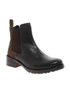 Image 1 ofBarbour Caveson Chelsea Boots