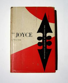 Alvin Lustig Design - James Joyce by Harry Levin.