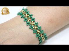 Chevron Friendship Bracelets, Friendship Bracelets Tutorial, Beaded Bracelets Tutorial, Handmade Bracelets, Macrame Tutorial, Loom Bracelets, Macrame Bracelets, Seed Bead Tutorials, Diy Jewelry Tutorials