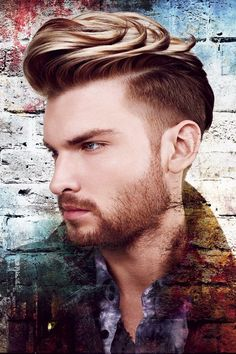 Fade Style With Wavy Hairs