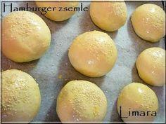 Limara péksége: Hamburgerzsemle Croissant, Bakery, Lime, Favorite Recipes, Cooking, Food, Rolls, Recipes, Cucina
