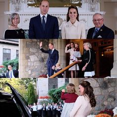 New-Old Photos of Cambridges, leaving Government House in Victoria