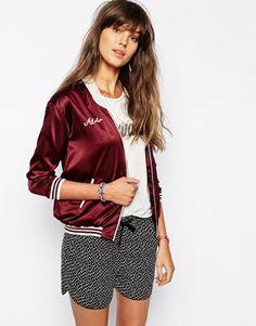 Love me a silk bomber jacket. http://asos.do/n3ZkPl