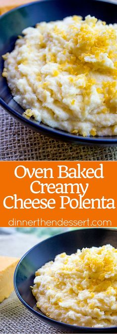 oven baked creamy cheese polenta oven baked creamy cheese polenta made ...