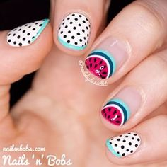 Nails for the Carytown Watermelon Festival