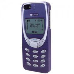 Coque iPhone 5 Retro Nokia