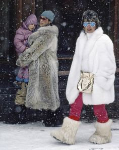 Basically, the world will never be able to top 1980s ski fashion