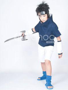 Naruto Sasuke Uchiha Cosplay Costume US$ 30.99