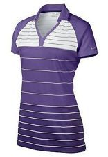 2013 Nike Golf Ladies Stripe Tunic Polo Ultraviolet