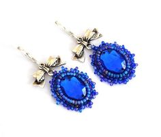 Royal Blue Earrings PandaHall Promotion use coupon code JL5OFFPINEN628 for 5% off for your orders, valid time from July 24 to July 30.