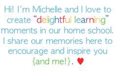 Great homeschooling blog
