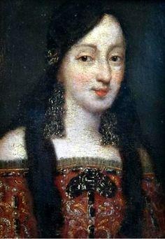 Portrait of a Spanish noblewoman, Spain, 17th century Unknown artist.