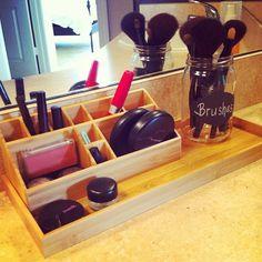 desk organizer to organize make up/bathroom stuff. love it