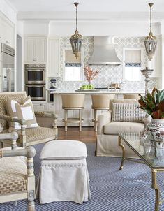 Tangle Lane FamilyKitchen Kitchen Family Room Contemporary TraditionalNeoclassical Transitional by Dodson Interiors