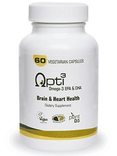 Vegan omega 3 capsules-important for improved cerebral circulation and blood pressure stability