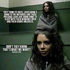 Pretty Little Liars Mona Vanderwaal is -A
