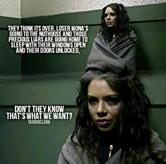 Pretty Little Liars Mona Vanderwaal is -A