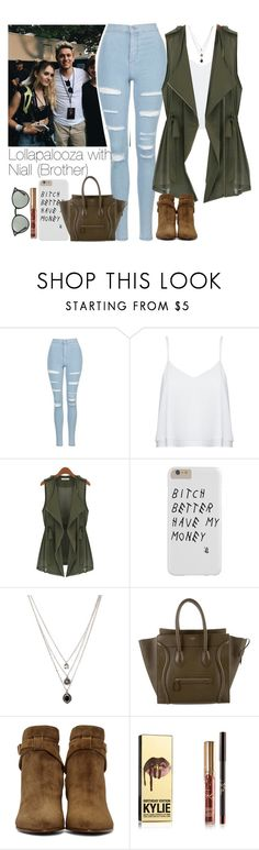 """""""SET NUMBER TWENTY EIGHT: Lollapalooza with Niall (Brother)"""" by txmporaryfix ❤ liked on Polyvore featuring Topshop, Alice + Olivia, Forever 21, CÉLINE, Yves Saint Laurent, Ray-Ban, NiallHoran and Lollapalooza"""
