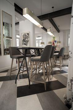 Espacio N° 47 - Cafetería en Dekton Domoos, Danae y Keon #Dekton #Domoos #Danae #Keon #Piso