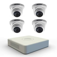 Hikvision 4 Channel DVR + 4 IR Dome 600 TVL Night Vision CCTV Camera  For More Details:+91-9885888835, +91-9989991199, To Order Call:18001231123