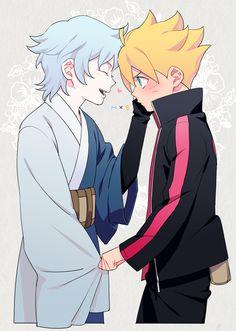 Tags: Anime, Ar (Rikuesuto), Boruto: Naruto the Movie, NARUTO, Mitsuki (NARUTO), Uzumaki Boruto, Hibiscus