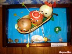 Вот и наши Трое в лодке поспели)))