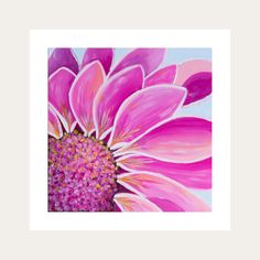 The Up-Close collection is looking at the environment and the beauty around us.  Daisies symbolize innocence and purity. In mythology, the daisy is Freya's, the goddess of love, sacred flower. It represents love, beauty and fertility and can symbolize childbirth, motherhood and new beginnings  All Lelly Lou art prints are printed on high-quality matte paper, signed & numbered  by Lelly herself and embossed with Lelly Lou signature stamp. Limited edition of 250