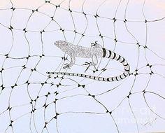Lizard Print By Joanna Thompson