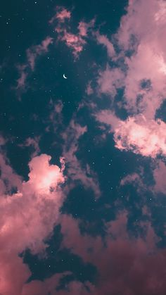 Galaxy Wallpaper Iphone Backgrounds Night Skies Ideas For 2019 Wallpaper Pastel, Night Sky Wallpaper, Cloud Wallpaper, Iphone Background Wallpaper, Aesthetic Pastel Wallpaper, Tumblr Wallpaper, Aesthetic Backgrounds, Cellphone Wallpaper, Nature Wallpaper