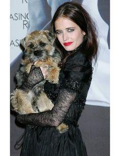 Photo of Eva Green & her Dog