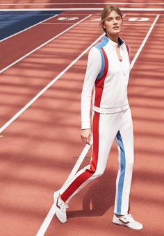 Tory Sport Color-block Track Jacket and Track Pants