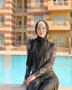 Hijab Fashion Inspiration, Style Inspiration, Casual Outfits, Fashion Outfits, Mode Hijab, Swimsuits, Swimwear, Luxury Lifestyle, Summer Time