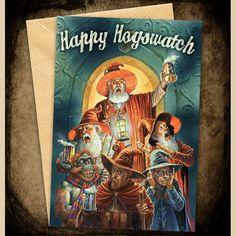 Hogswatch Greeting Cards   Discworld Emporium