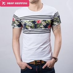 For more cool designed T Shirt visit the link. Camisa Polo, Casual T Shirts, Tee Shirts, Camisa Floral, Streetwear Shorts, Teen Boy Fashion, Quality T Shirts, Vintage Design, Mens Tees