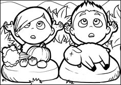 craft for cain and abel | Cain y Abel para colorear |  love the little sheep!