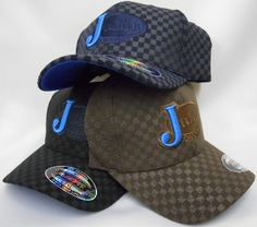 203b36bb1fb Mens Cowboy Hats Justin FlexFit Checkered Cowboy Cap