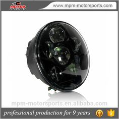 5.75 inch round led motorcycle headlight bulbs for Haley Davidson