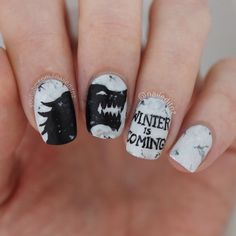 Game of thrones nail art! Watch here: https://youtu.be/tOBfSauPIcw
