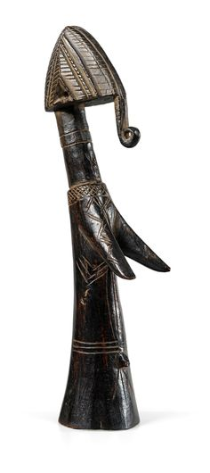 Africa | Fertility doll from the Mossi people of Burkina Faso | Wood | ca. mid 1900s