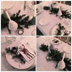 ⭐️JUL⭐️ #jul #jul2014 #julemiddag #julaften #christmas #borddekking #tablesetting #rosendahl #kähler #avvento #myhome #mitthjem