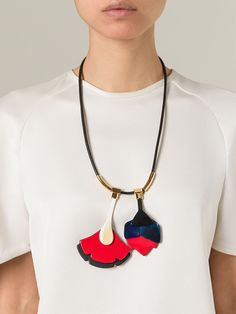 Marni - Flower Pendant Necklace