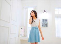 ♡Jang Chom Mi♡ - ulzzang gallery - Asianfanfics Waist Skirt, High Waisted Skirt, Pretty Face, Ulzzang, Tags, Gallery, Skirts, Fashion, Moda